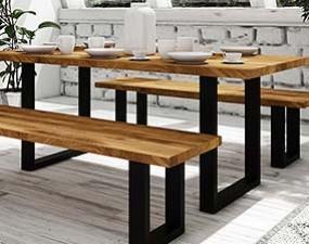 Stůl STEEL nerozkládací