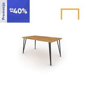 Stůl s přírodním topem GOLO