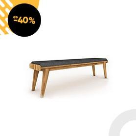 Čalouněná lavice do ložnice RETRO