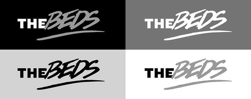Logotyp wariant w skali szarości